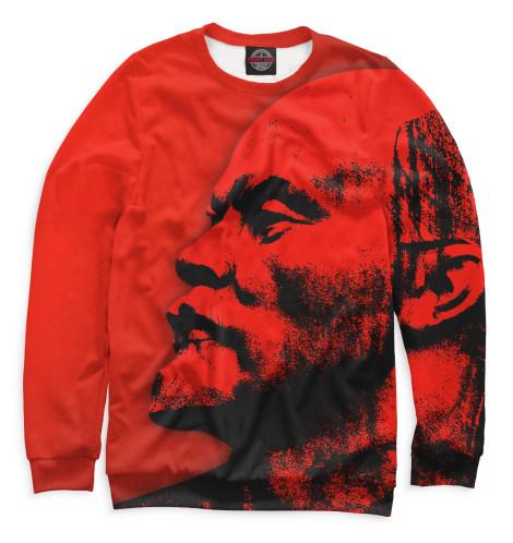 Мужской свитшот Ленин