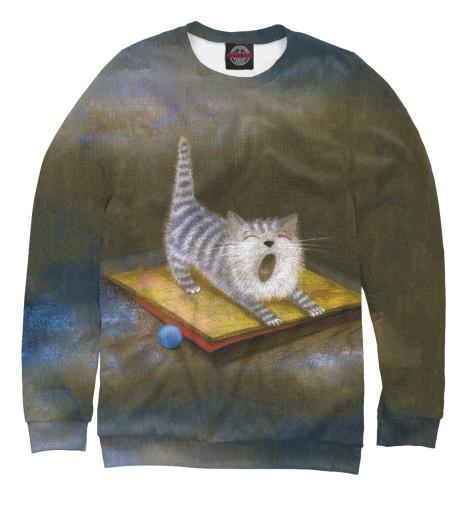 все цены на Свитшот Print Bar Sleepy Kitten онлайн