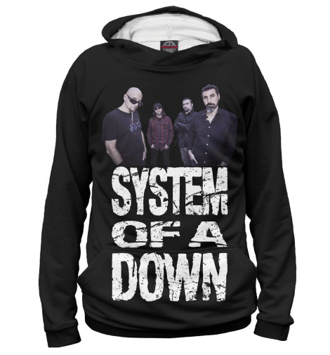 Мужское худи System of a Down