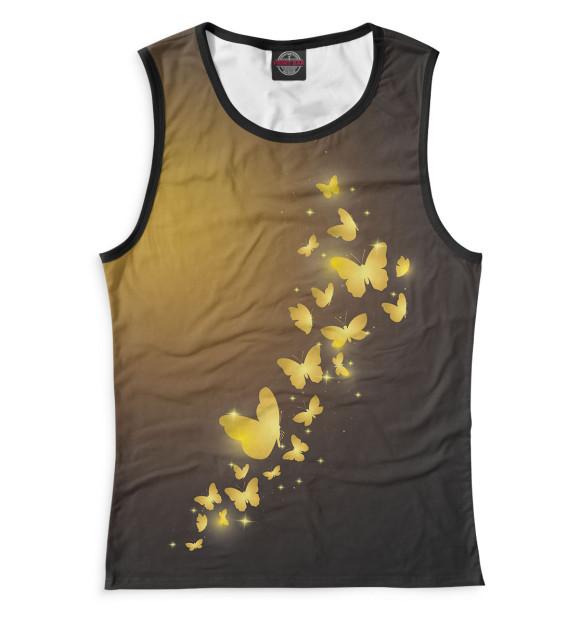 Купить Женская майка Бабочки NAS-688878-may-1