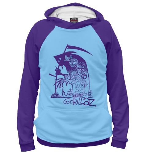 Купить Женское худи Gorillaz GLZ-499467-hud-1