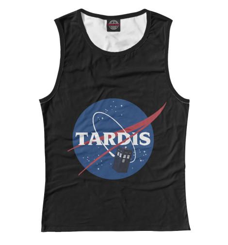 Майка Print Bar Tardis NASA