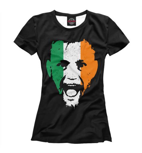 Фото - Женская футболка Конор МакГрегор от Print Bar белого цвета