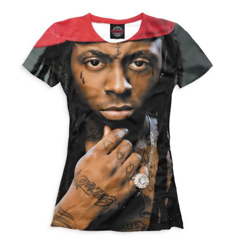 Женская футболка Lil Wayne