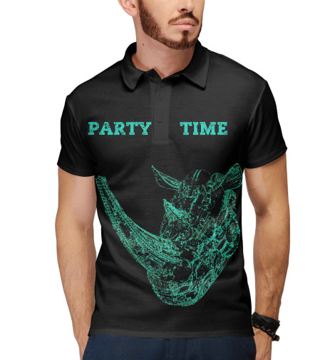 Поло Print Bar PARTY TIME тостер ariete 186 party time red