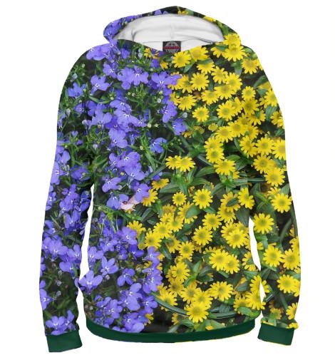 Худи Print Bar Цветочный сад свитшот print bar иероним босх сад земных наслаждений