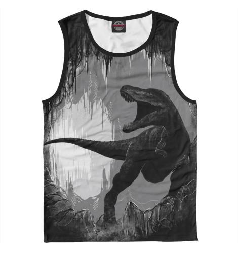 Майка Print Bar Пещера динозавра цена 2017
