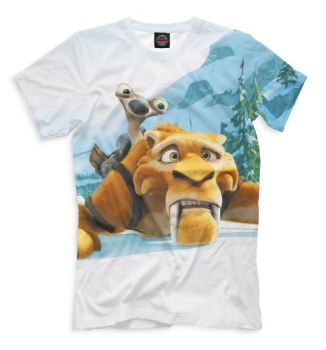 Мужская футболка Ледниковый период