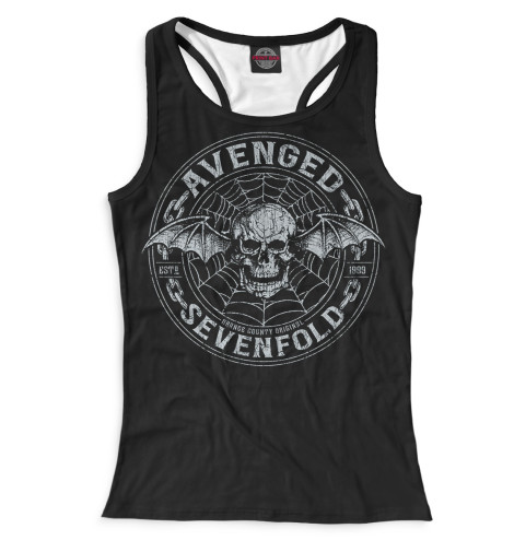 Женская майка-борцовка Avenged Sevenfold