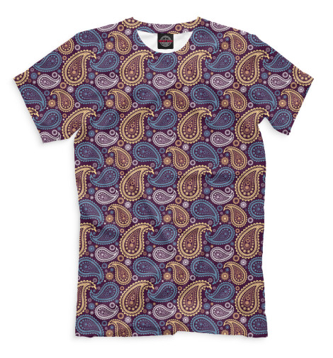 Мужская футболка Узор бута