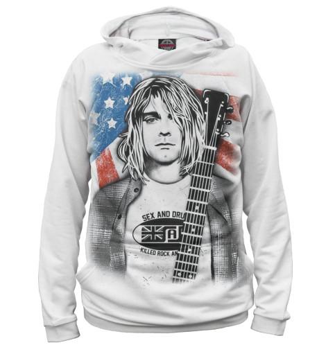 Мужское худи Kurt Cobain