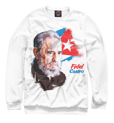 Свитшот Print Bar Fidel Castro the autobiography of fidel castro