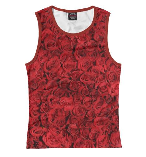 Майка Print Bar Роза пламенная роза тюдоров