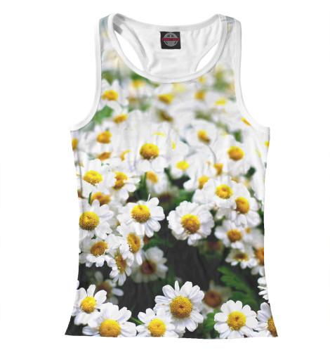 Купить Женская майка-борцовка Цветок ромашки CVE-751244-mayb-1