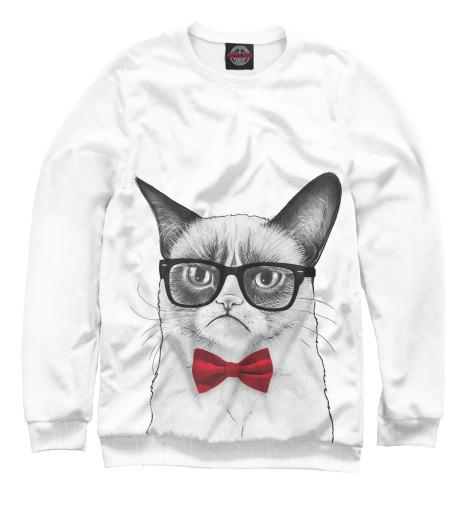 Купить Мужской свитшот Суровый кот HIP-770265-swi-2
