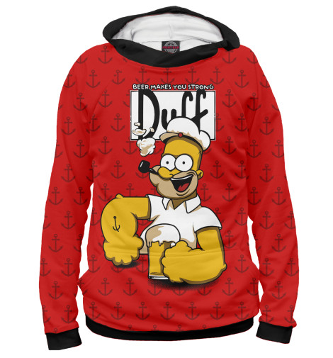 Купить Женское худи Duff Beer SIM-233754-hud-1