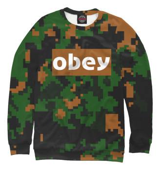 Женский Свитшот obey collection military