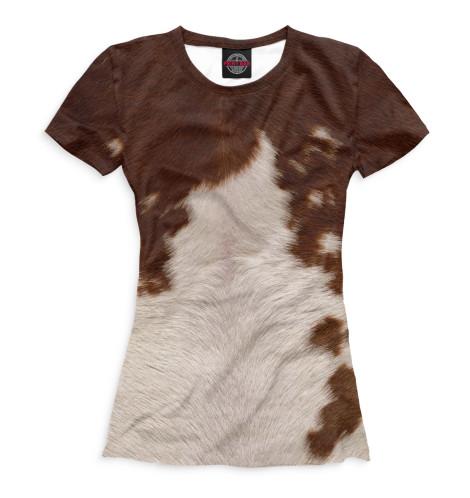 Женская футболка Корова