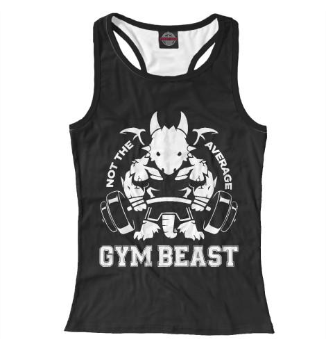 Майка борцовка Print Bar Gym Beast майка print bar beast beauty