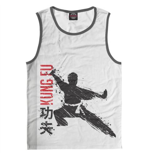 Майка Print Bar Kung Fu аксессуар man kung тетива для блочного арбалета mk 350s