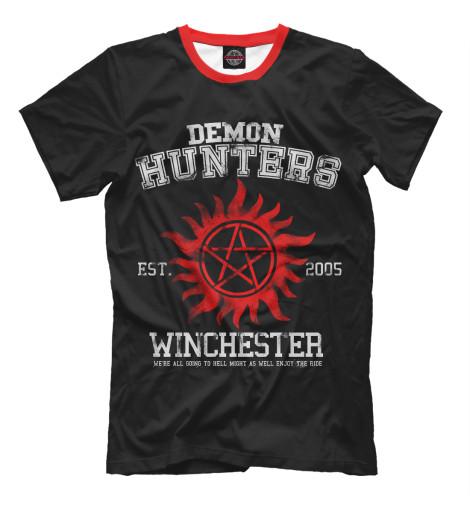 Мужская футболка Demon Hunters SVE-141612-fut-2  - купить со скидкой