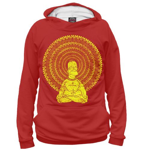 Худи Print Bar Гомер Буддизм