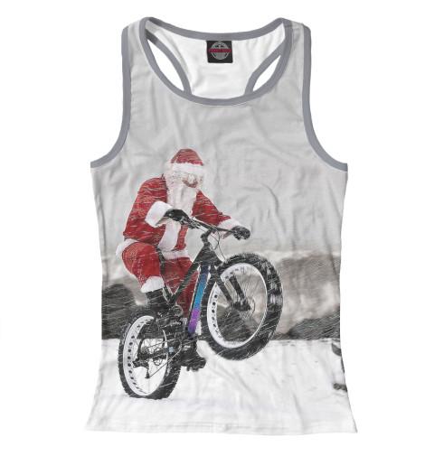 Купить Майка для девочки Дед Мороз и его БАЙК NOV-931405-mayb-1