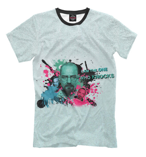Футболка Print Bar Breaking bad толстовка wearcraft premium унисекс printio breaking bad