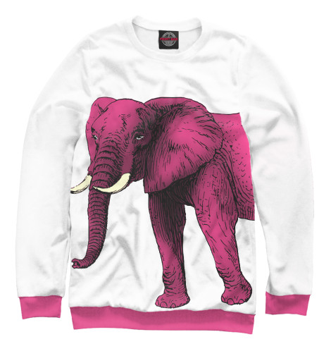Свитшот Print Bar Слон фуксия свитшот print bar слон