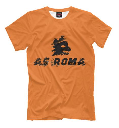 Футболка Print Bar AS Roma roma nike футболка nike roma tee crest 888804 613