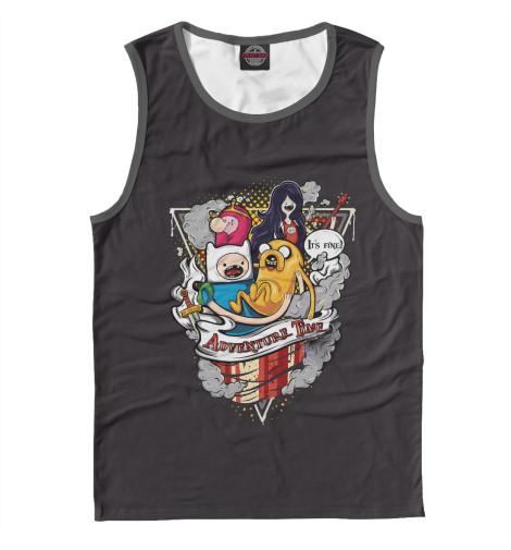 Купить Майка для мальчика Adventure Time Team ADV-215175-may-2