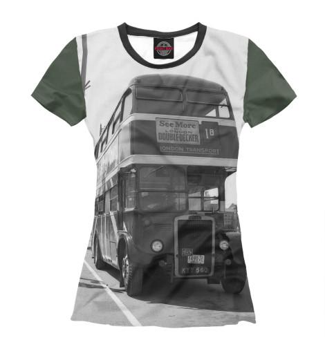 Футболка Print Bar Англия. Лондон. Автобус. восток и запад англия и лондон страна жемчуга