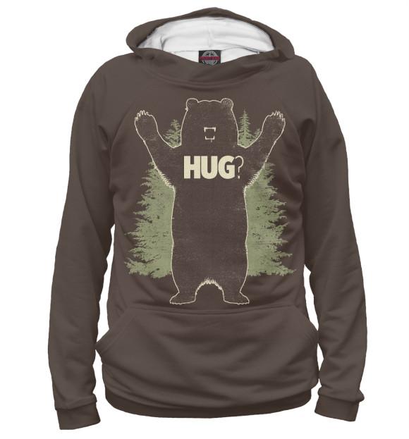 Купить Мужское худи Медведь MED-354159-hud-2