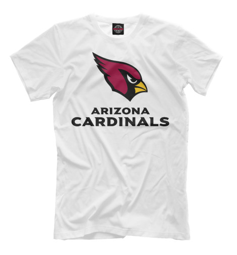 Футболка Print Bar Arizona Cardinals - Аризона Кардиналс цена и фото