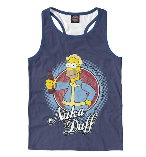 Майка борцовка Print Bar Nuka Duff майка борцовка print bar nuka duff