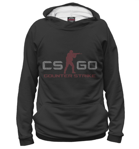 Худи Print Bar Counter Strike Global Offensive свитшот print bar counter strike go