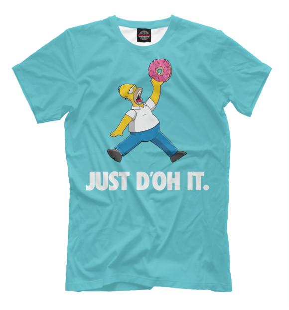 Купить Футболка для мальчиков Just D'oh It SIM-513596-fut-2