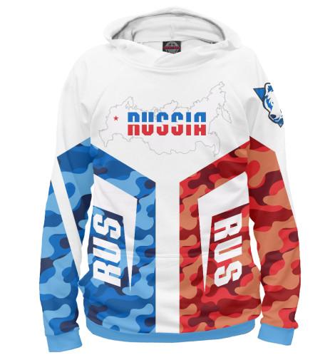 Купить Худи для девочки Символика РФ SRF-902491-hud-1