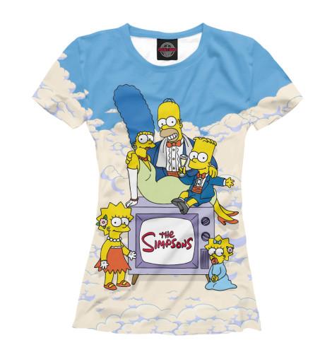 Футболка Print Bar The Simpsons футболка print bar chance the rapper