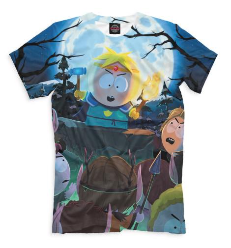 Мужская футболка Палка Истины