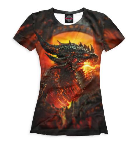 Женская футболка World of Warcraft