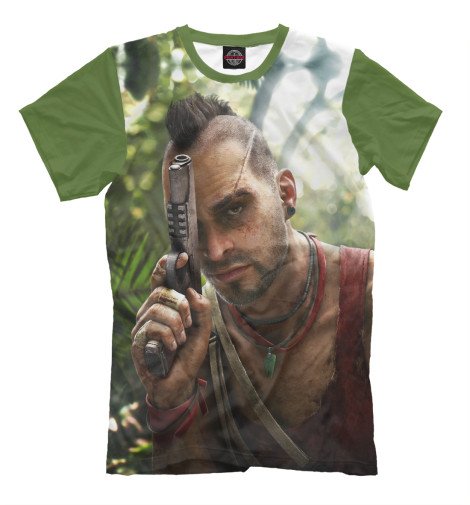 Футболка Print Bar Far Cry 3 — Ваас a far and deadly cry