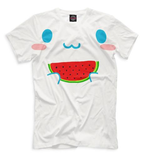 Мужская футболка Арбуз