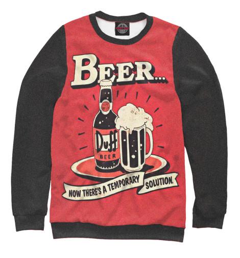 Свитшот Print Bar Duff Beer футболка print bar duff beer