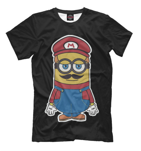 Футболка Print Bar Minion Mario футболка print bar super minion