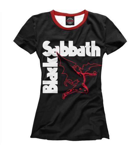 Купить Женская футболка Black Sabbath MZK-353339-fut-1