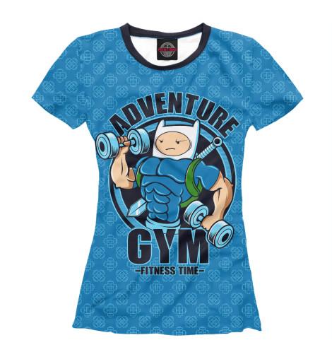 Футболка Print Bar Adventure Gym худи print bar adventure fiction
