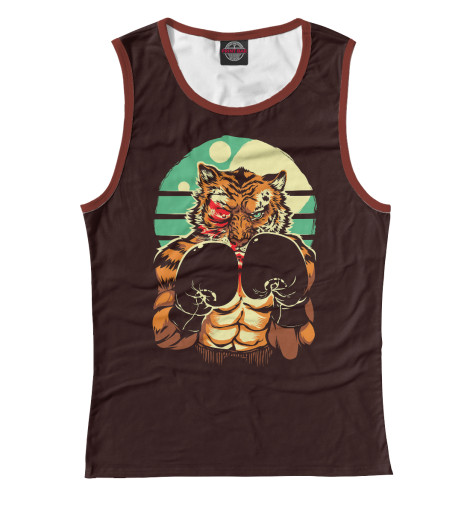 Майка Print Bar Eye of the Tiger футболка print bar eye of the tiger