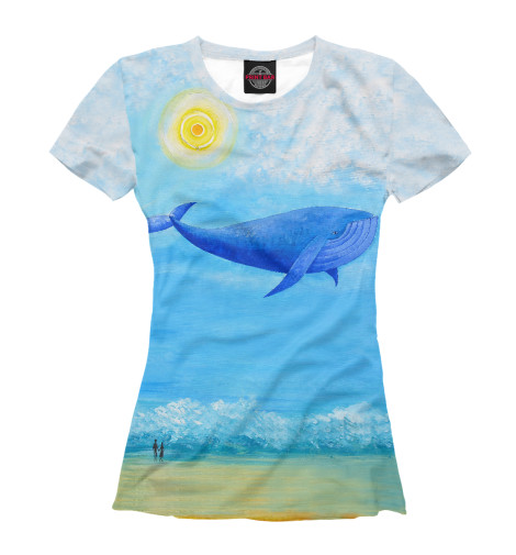 Футболка Print Bar Синий кит