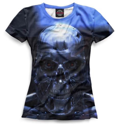 Женская футболка Терминатор